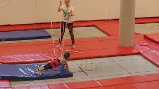 Акробатика для детей. Спортивная гимнастика 4 года