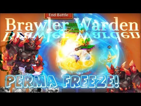 Brawler Warden Challenge Perma Freeze! - Castle Clash