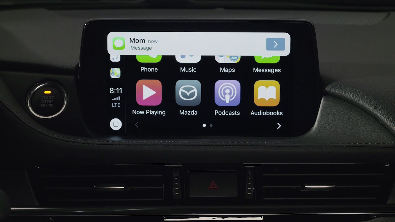 How to set up Apple CarPlay™ in your Mazda