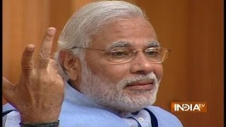 PM Candidate Narendra Modi in Aap Ki Adalat 2014 (Part 1) - India TV