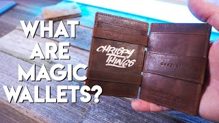 Garzini Magic Wallets: One of the COOLEST leather wallets I've ever seen!