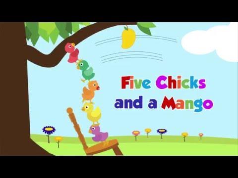 Read Aloud Story - Five Chicks and a Mango - Akili and Me Storybooks