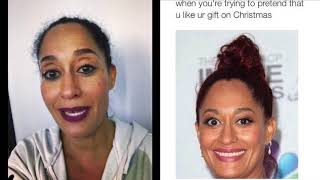 Tracee Ellis Ross Responds To Eye Jokes, And Roasts Herself