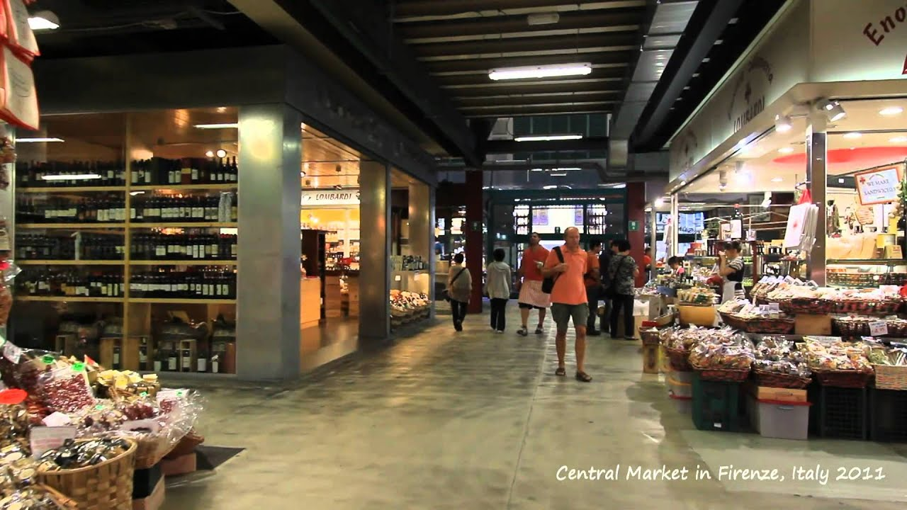 Stroll with EOS : Central Market in Firenze, Italy 2011 - YouTube