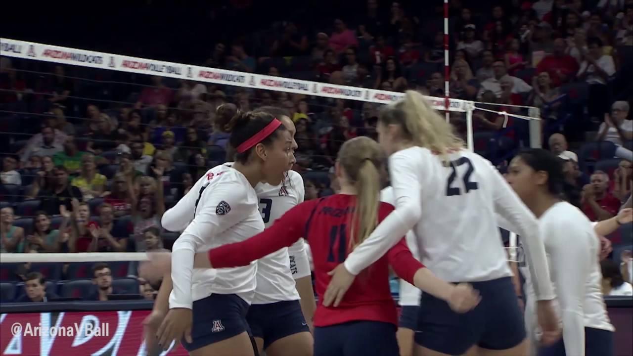 Arizona Volleyball 2016 Hype Video