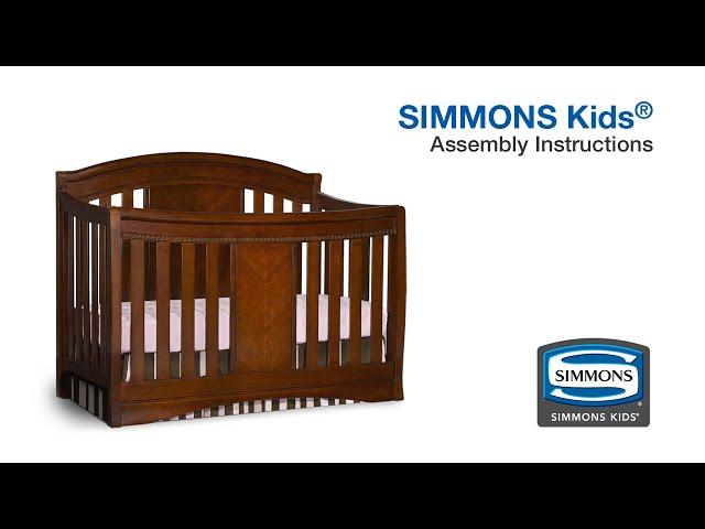 Simmons Kids® Elite Crib N More Assembly Video
