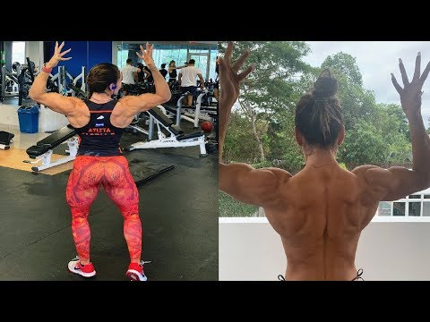 Strong Gorgeous Woman Gloria Portillo  – IFBB Women's Physique Pro – Female Bodybuilding