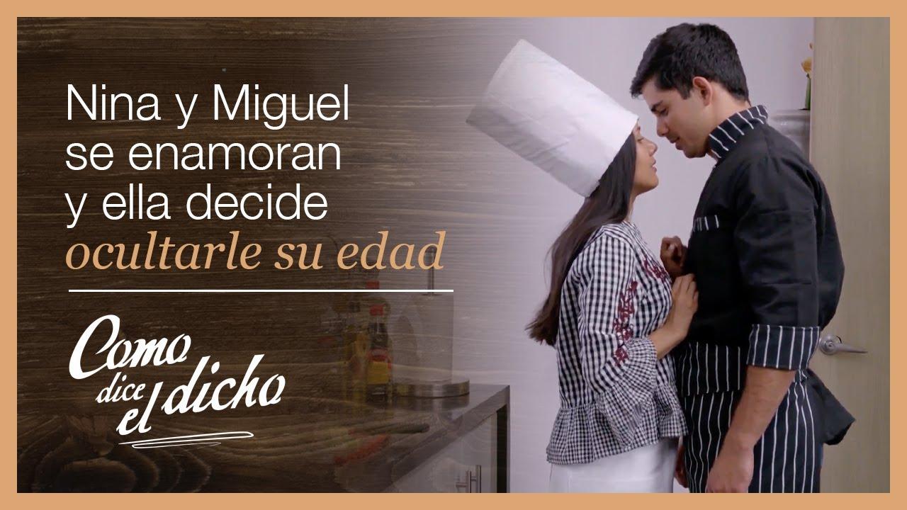 Nina se enamora de Miguel un hombre mayor que ella | Para el amor... | Como dice el dicho