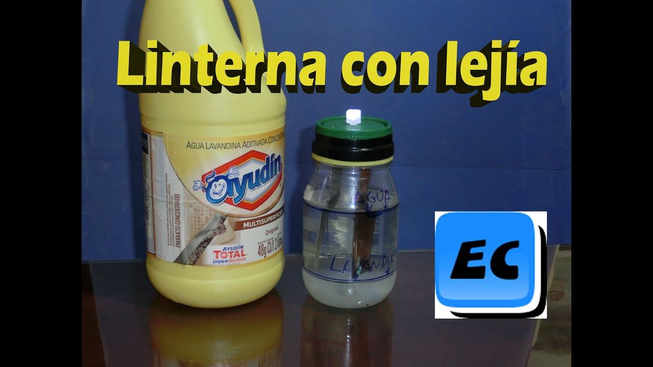 Pila o bateria casera de cloro o lavandina hipoclorito for Hipoclorito de sodio para piscinas