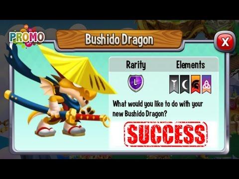 Dragon City - Bushido Dragon + Fighting Boss [Legendary Dragon]