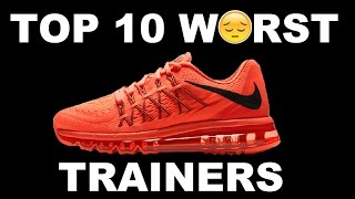 Top 10 WORST Trainers : Krept & Konan, Big Narstie, Youngs Teflon & More   Grime Report Tv