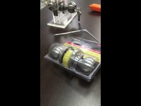 Cylindrical Lock Installation Video
