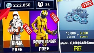 Comment faire et obtenir EASY GRATUIT V-Bucks FAST dans Fortnite Battle Royale (fr) VBucks illimitéps 4/Xbox One