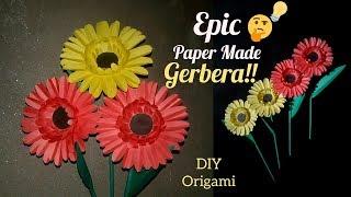 DIY Paper Gerbera→How To Make a Paper Gerbera→Adele Giant Paper Gerbera Flower
