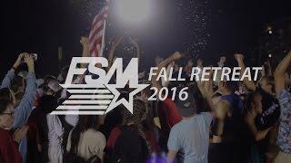FSM NWA - Fall Retreat 2016