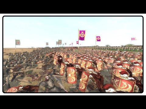 LORD OF THE RINGS VS THE ROMAN EMPIRE  - Thera Total War Mod Gameplay