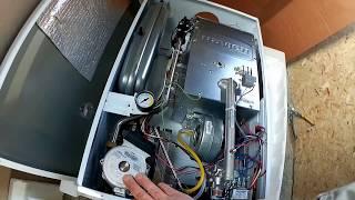 Распаковка газового котла Navien Deluxe coaxial 24К