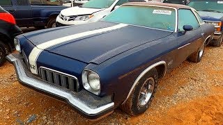 Copart Walk Around 11-16-19 - 1973 Olds Cutlass 442