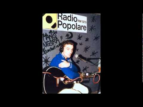 Manu Chao en vivo Radio Popolare - 16 - Lagrimas De Oro - El Cuarto De Tula