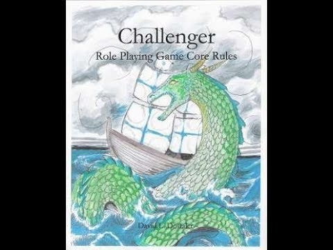 RPG D30-42 Review of Challenger rpg by Superior Games Books