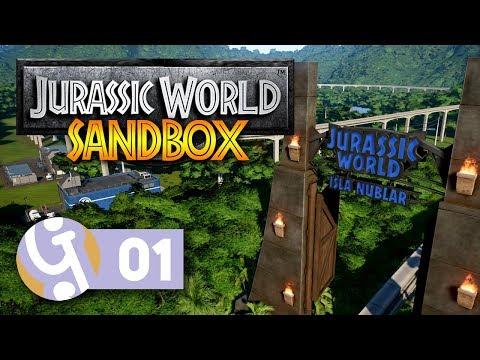 🦖 Spared No Expense! | Isla Nublar Sandbox Mode | Let's Create Jurassic World Evolution #01