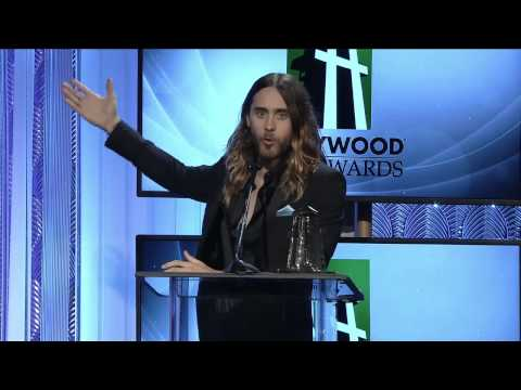 Jared Leto - Hollywood Film Awards - Breakthrough Award Acceptance Speech 10.21.2013