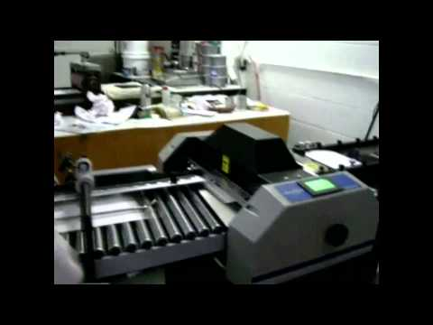 Graphic Whizard Creaser Inline With A Paper Folder Demo Vid