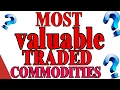 MOST VALUABLE TRADED COMMODITIES IN THE WORLD | US Tube