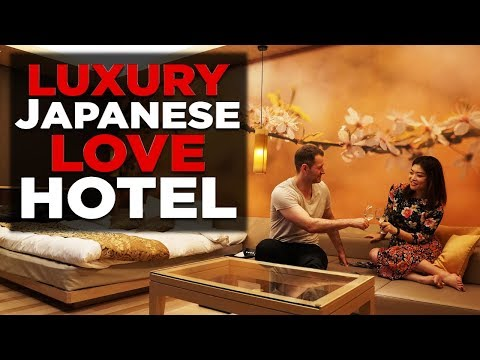 Luxury LOVE HOTEL Tour In Tokyo | Olympic Edition