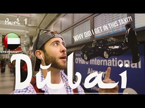 *FIRST MISTAKE IN DUBAI* WHY DID I GET IN THIS TAXI!?! | MYSTERY FLIGHTS DUBAI PART 1