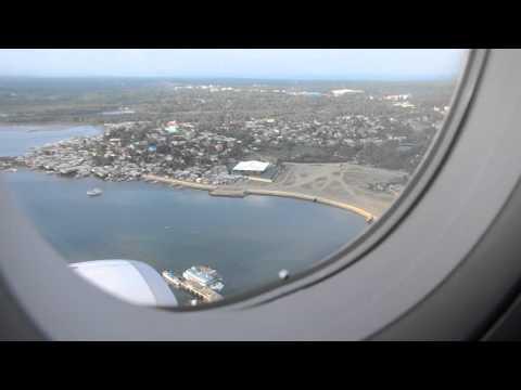 Landing in Puerto Princesa, Philippines
