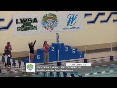 2019 Illinois Swimming Age Group Championships Friday 10 and Under