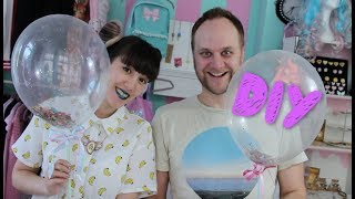 DIY I Party Konfetti Ballons mit Gniechel