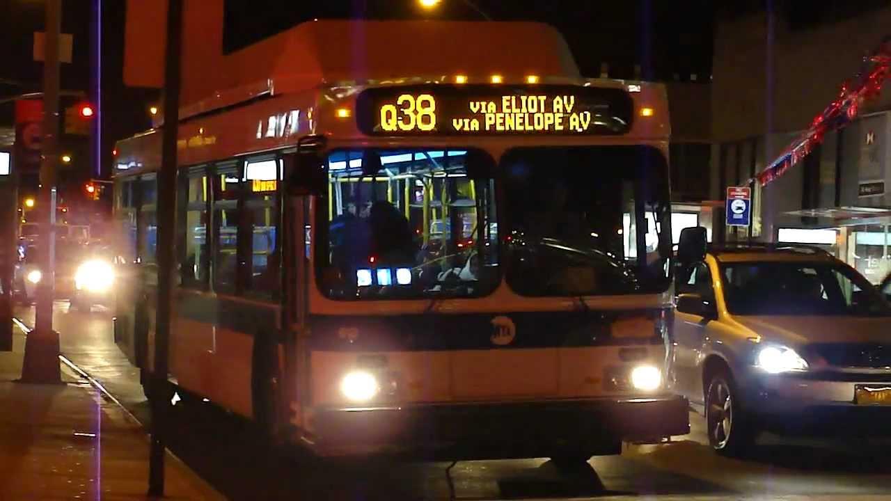 mta bus  2012 new flyer c40lf q38 bus  613 at queens blvd