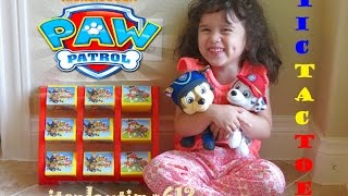 paw patrol toss across tic tac toe game best for kids family   itsplaytime612