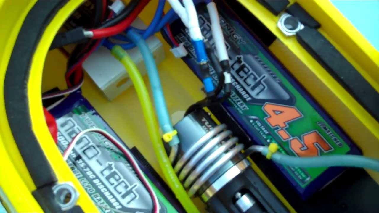 KMB 28MM Jet Drive RC Boat Setup - YouTube