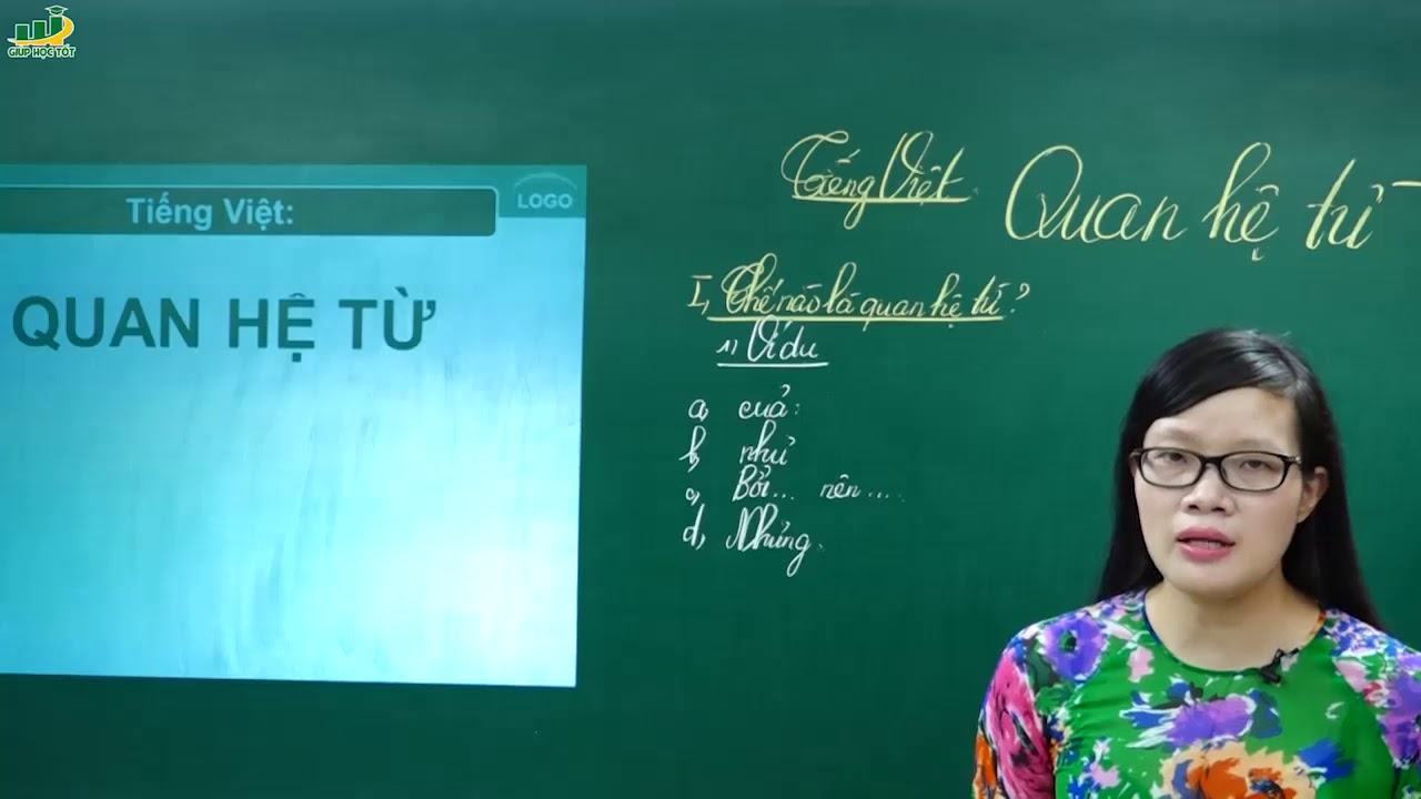 Ngữ Văn Lớp 7 –Bài giảng Quan hệ từ | Tiếng Việt Từ và cụm từ | Cô Lê Hạnh