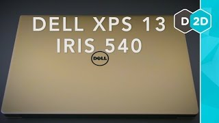 Gold Dell XPS 13 (Iris 540) Review - Worth the Upgrade?