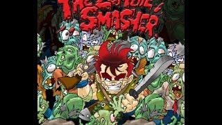 Matando zombies en el juego Zombie Smasher