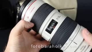Canon EF 70-200mm f/2.8L IS USM цена 1100$ купить на Фотобарахолка Киев(В стоимость входит объектив Canon EF 70-200mm f/2.8L IS USM, оригинальная защитная верхняя крышка Canon E77, оригинальная..., 2016-06-17T11:34:55.000Z)