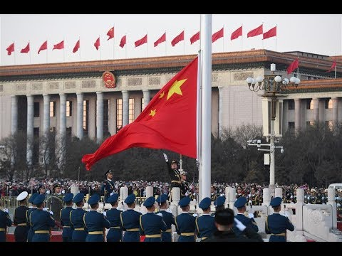 Chinese PLA takes over flag-raising duty at Tian'anmen Square on New Year's Day