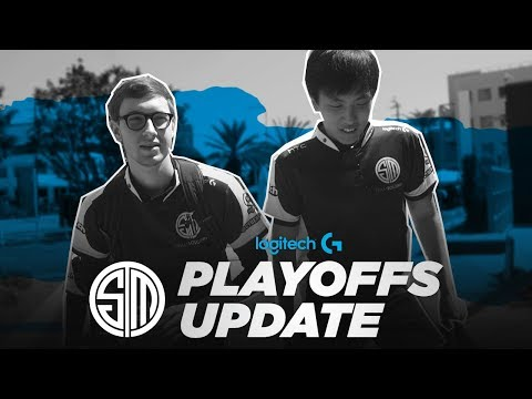 TSM Playoffs Update Vlog | Presented by Logitech
