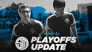 TSM Playoffs Update Vlog   Presented by Logitech