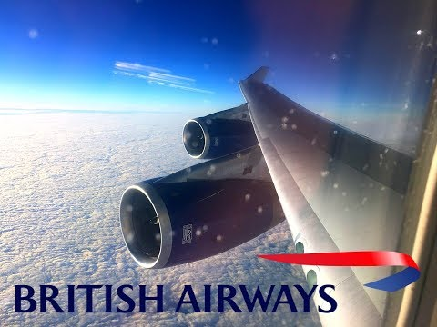British Airways | 747-400 | Phoenix (Sky Harbor) ✈ London Heathrow | Club World |