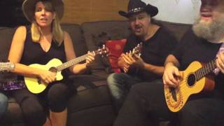 Let me be there cover. rehearsal take 1 The Australian ukulele show