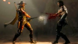 Mortal Kombat 11 - Erron Black NEW Fatality Gameplay Walkthrough (MK 11)