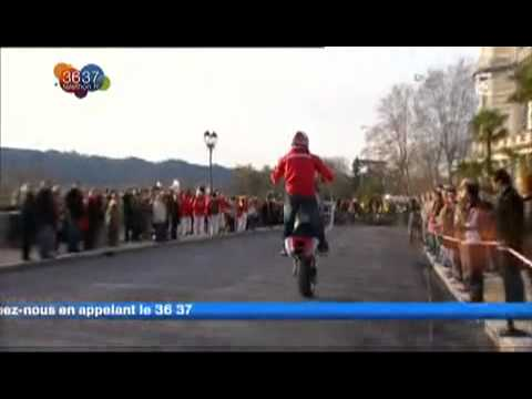 Jorian Ponomareff & Cyril Hanouna www jorian ponomareff com Telethon France 3 Pau Moto on Vimeo