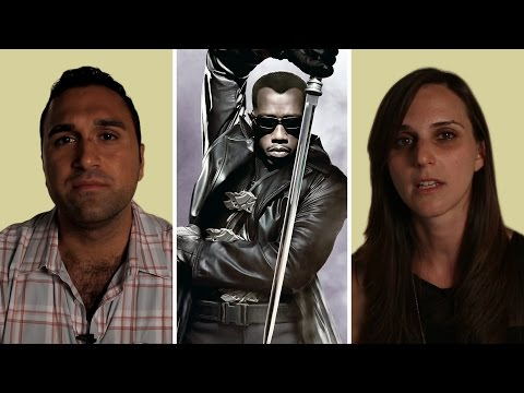 He's Palestinian. She's Israeli. Both Of Them Incorrectly Summarize The Movie 'Blade.'