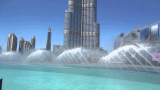 Dan Fellner    Burj Khalifa fountain show