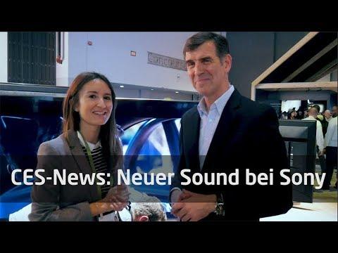 CES 2018: Neue UHD-Player, Soundbars und AV-Receiver von Sony